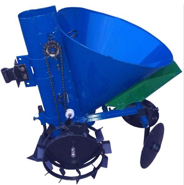 Картофелесажатель мотоблочный К-1ЦУ (синий)