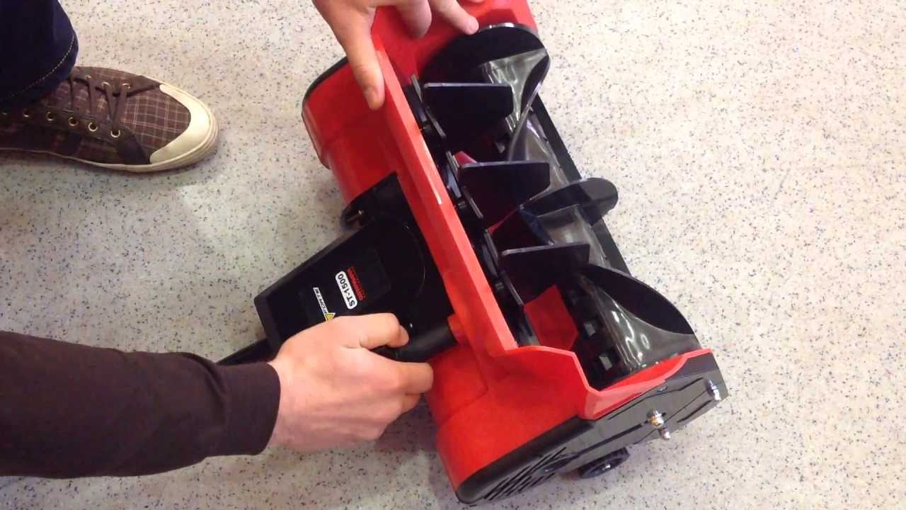 Снегоуборочная электрическая лопата своими руками