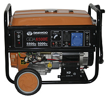 Бензиновый генератор Daewoo Power GDA 6500 E